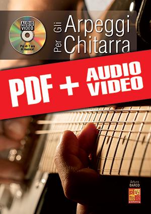 Gli arpeggi per chitarra (pdf + mp3 + video)