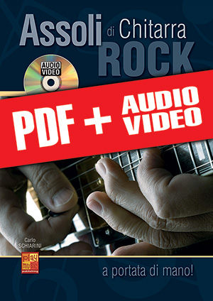 Assoli di chitarra rock… a portata di mano! (pdf + mp3 + video)