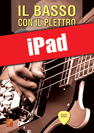 Il basso con il plettro (iPad)