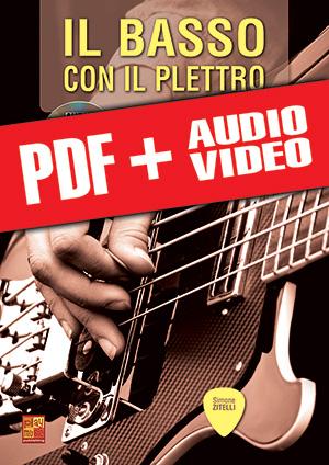 Il basso con il plettro (pdf + mp3 + video)