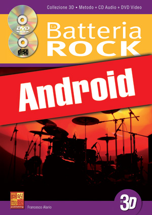 La batteria rock in 3D (Android)