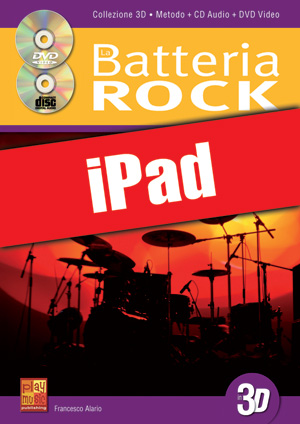 La batteria rock in 3D (iPad)