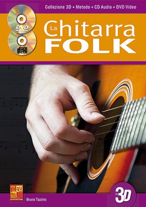 La chitarra folk in 3D