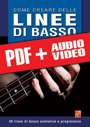 Come creare delle linee di basso (pdf + mp3 + video)