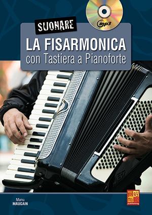 Suonare la fisarmonica con tastiera a pianoforte