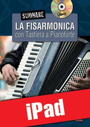 Suonare la fisarmonica con tastiera a pianoforte (iPad)