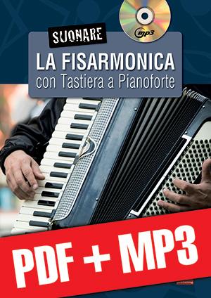 Suonare la fisarmonica con tastiera a pianoforte (pdf + mp3)