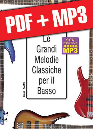 Le grandi melodie classiche per il basso (pdf + mp3)