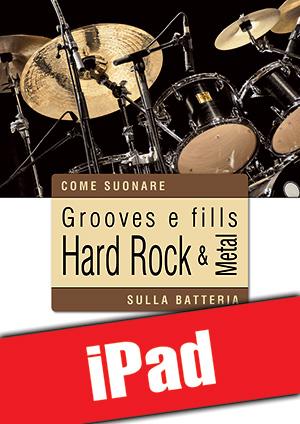 Grooves e fills hard rock & metal sulla batteria (iPad)