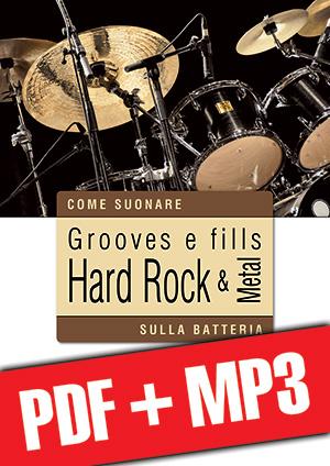 Grooves e fills hard rock & metal sulla batteria (pdf + mp3)