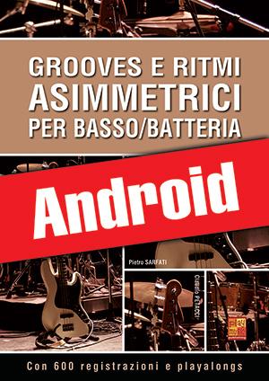 Grooves e ritmi asimmetrici per basso/batteria (Android)