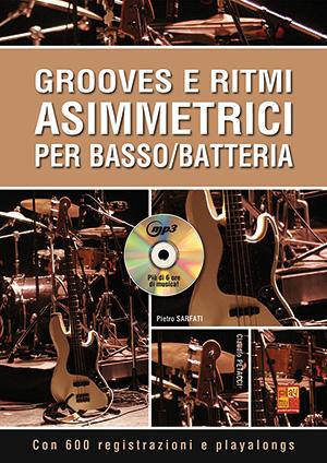 Grooves e ritmi asimmetrici per basso/batteria