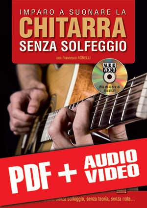 Imparo a suonare la chitarra senza solfeggio (pdf + mp3 + video)