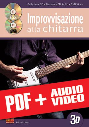 Improvvisazione alla chitarra in 3D (pdf + mp3 + video)