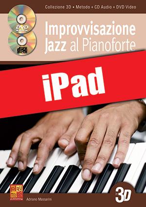 Improvvisazione jazz al pianoforte in 3D (iPad)