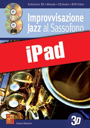 Improvvisazione jazz al sassofono in 3D (iPad)