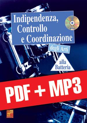 Indipendenza, controllo e coordinazione alla batteria (pdf + mp3)