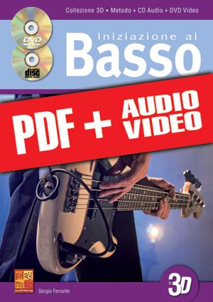 Iniziazione al basso in 3D (pdf + mp3 + video)