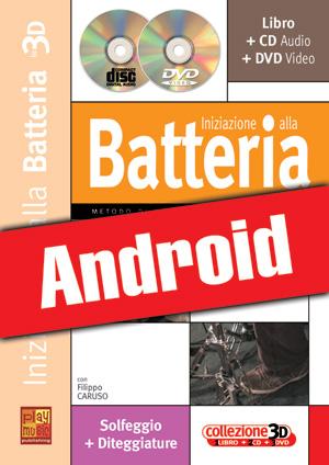 Iniziazione alla batteria in 3D (Android)