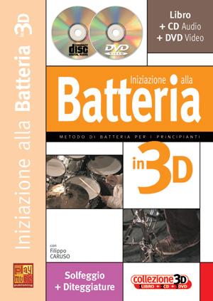 Iniziazione alla batteria in 3D