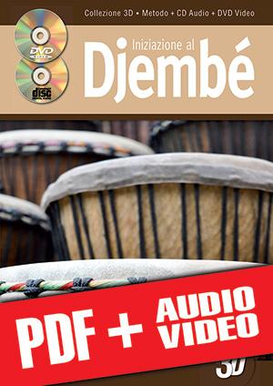 Iniziazione al djembé in 3D (pdf + mp3 + video)