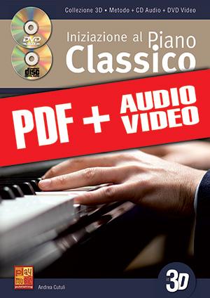 Iniziazione al piano classico in 3D (pdf + mp3 + video)