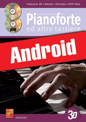 Iniziazione al pianoforte ed altre tastiere in 3D (Android)