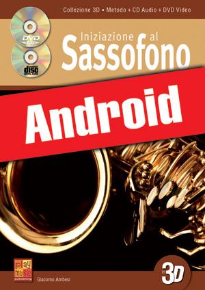 Iniziazione al sassofono in 3D (Android)