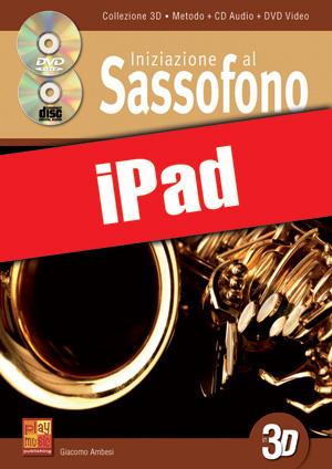 Iniziazione al sassofono in 3D (iPad)