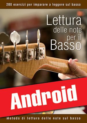 Lettura delle note per il basso (Android)