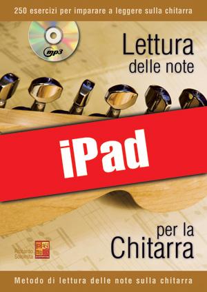 Lettura delle note per la chitarra (iPad)
