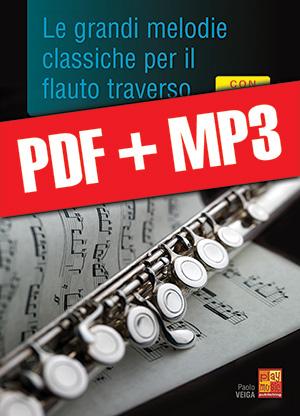 Le grandi melodie classiche per il flauto traverso (pdf + mp3)