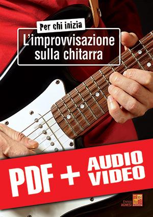 Per chi inizia l'improvvisazione sulla chitarra (pdf + mp3 + video)