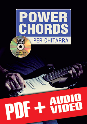 Power chords per chitarra (pdf + mp3 + video)