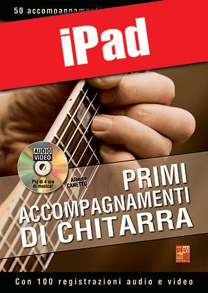 Primi accompagnamenti di chitarra (iPad)