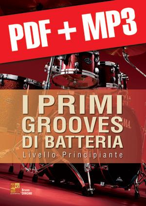 I primi grooves di batteria (pdf + mp3)