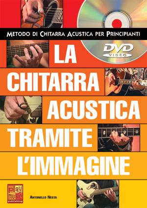 La chitarra acustica tramite l'immagine