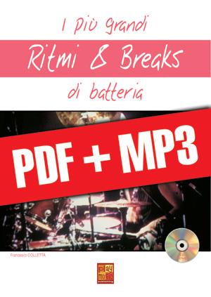 I più grandi ritmi & breaks di batteria (pdf + mp3)