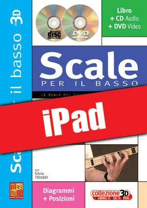 Scale per il basso in 3D (iPad)