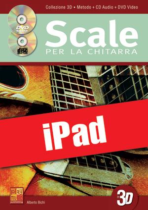Scale per la chitarra in 3D (iPad)