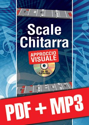 Le scale della chitarra con approccio visuale (pdf + mp3)