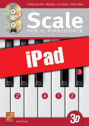 Scale per il pianoforte in 3D (iPad)