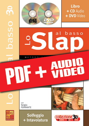 Lo slap al basso in 3D (pdf + mp3 + video)