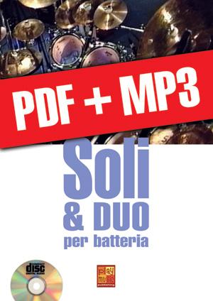 Soli & duo per batteria (pdf + mp3)