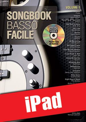 Songbook Basso Facile - Volume 1 (iPad)