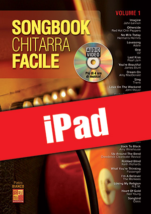 Songbook Chitarra Facile - Volume 1 (iPad)