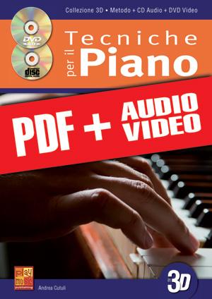 Tecniche per il pianoforte in 3D (pdf + mp3 + video)