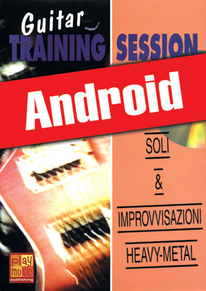 Guitar Training Session - Soli & improvvisazioni heavy-metal (Android)