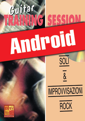 Guitar Training Session - Soli & improvvisazioni rock (Android)