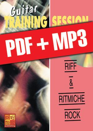 Guitar Training Session - Riff & ritmiche rock (pdf + mp3)